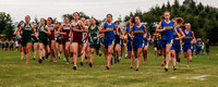 County XC Meet In Caribou